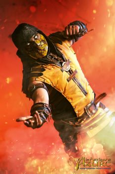 Scorpion Mortal Kombat X Cosplay 3 by ArtisansdAzure