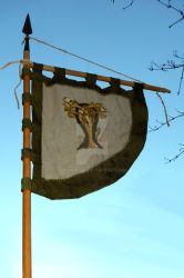Waldgaenger Viking Flag by Erianrhod