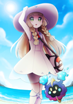 Lillie's Day at the Beach by Bunnyloz