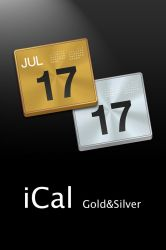 iCal Gold and Silver by erosle