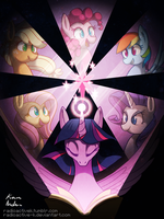 The Magic of Friendship by Radioactive-K