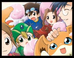 Digimon: Cotton Candy!!! by AgentSkyBear