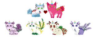 Breeding batch - wintryabyss - wildcard florals by Enchantedprey5280