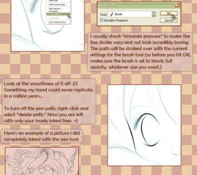 Cleaning up lines tutorial II by joulee