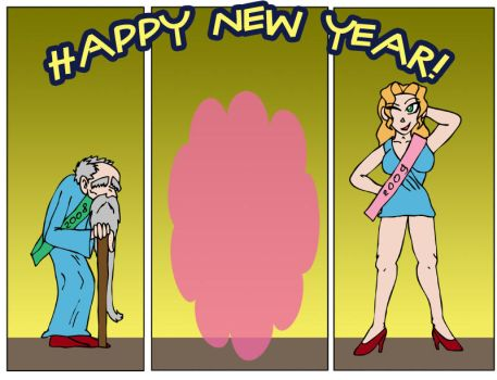 Happy New Year by Chess-Man