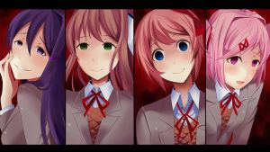 DDLC Yandere by Angon623