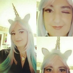 Unicorn for Halloween  by E1L0n3wy