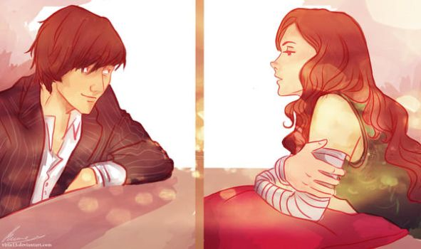Penelope and Max by viria13