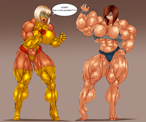 COMET GIRL AND HEATHER FLEX by B9TRIBECA
