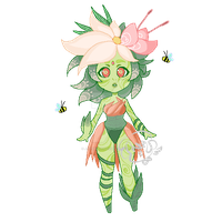 Flora Pixel Adopt +CLOSED/Points+ by Jaysmooches