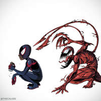 Sneaky Symbiote II by thecalgee