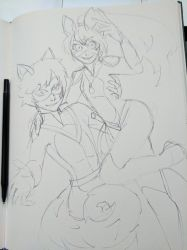A sketch of a thing by Tresity