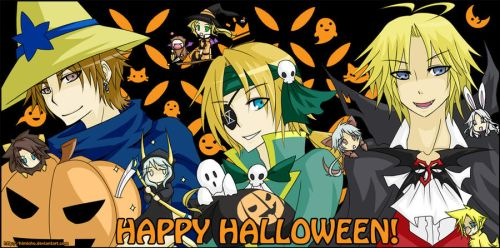 DFF - Halloween by himichu