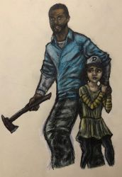 Lee and Clem by swiftcross