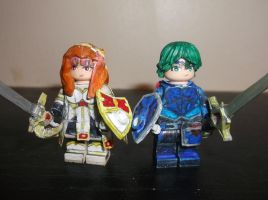 LEGO Fire Emblem Echoes: Alm and Celica (Promoted) by TommySkywalker11