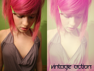 Vintage Action 6 by beckasweird