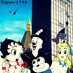 Betty and the gang are on tour in New York by Rapper1996