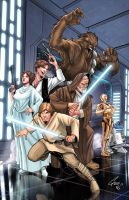 Star-Wars - A New Hope by Eddy-Swan-Colors