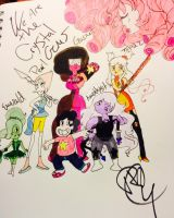 We are the Crystal Gems by StainedUsagi