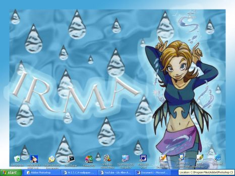 W.I.T.C.H wallpaper Irma by Hentai-Sweetie