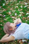 Shouko with Flower Petals, A Silent Voice Cosplay by firecloak