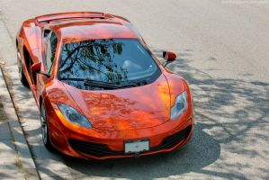 Volcano Orange MP4-12C by SeanTheCarSpotter