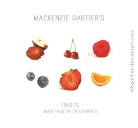 Fruits' Imagepack. by MBGartier