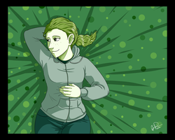 Color Challenge 04 - Green by twapa
