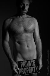 Implied Nude Self-Portrait by BrianMPhotography