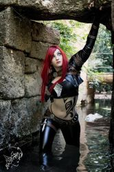 Katarina from League of Legends by kittychamallow