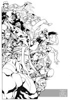 Street Fighter 25th Anniversary Tribute Final by dymartgd