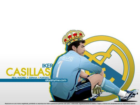 Iker Casillas by akyanyme