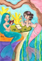 Lorelei and Loriel by valloria