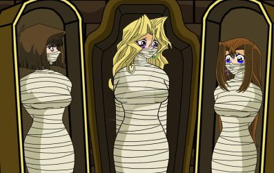 Yugioh DID Punk Mummy Girls by Duel-Monsters