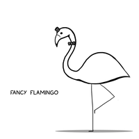 Fancy Flamingo by arseniic