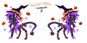 Witch's brew adopt OTA ~OPEN~ by aura-serpents