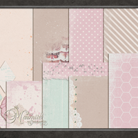 Softly Softly Papers by DaydreamersDesigns