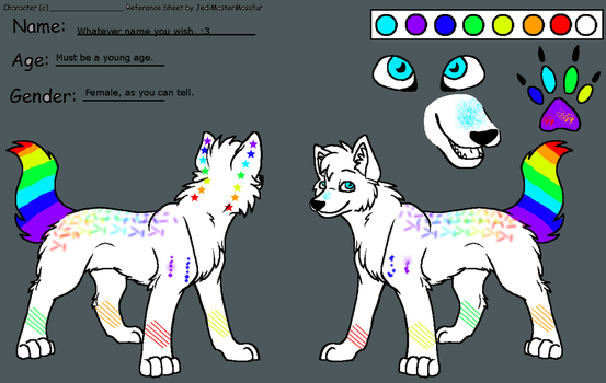 Wolf adoptable ~female~ (Closed) by WolvesVGriffins