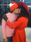 carmen sandiego and waldo by NayigoCosplay