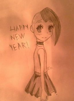 Happy New Year! by Emilectro