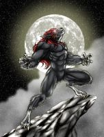 Werewolf by Lakcoo2u colored by Arkheon