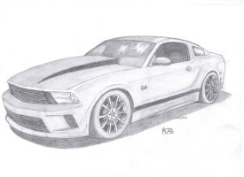 Ford Mustang 2013 by eagleeyeking