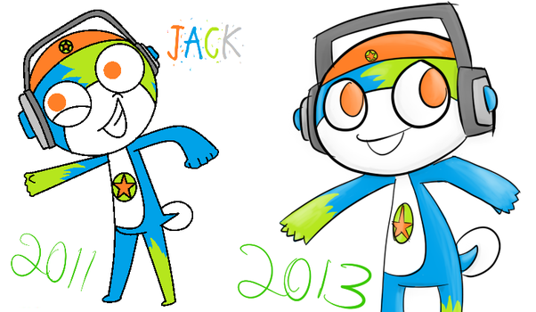 Jack redraw meme by Noulin123