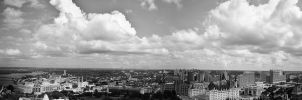 View from the Peace Tower II by Gibbich