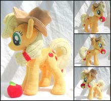 Applejack Plush SOLD by OhThePlushabilities