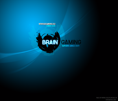 BRain Gaming logo by chillys-world