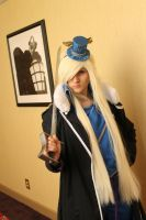 My Olivier Armstrong Cosplay - Triadanimecon by littlecasaroo
