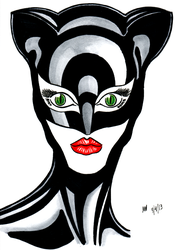 Catwoman - A Flash of the Eyes by Scuter