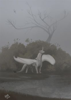 White in the Fog by madnessdemon