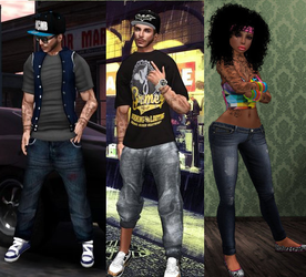 3D Models : Urban Clothing Collection 1 by Mokazar
